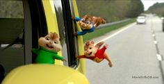 Alvin and the Chipmunks: The Road Chip  - Publicity still