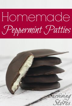 The BEST Homemade Peppermint Patties I've Ever Had!