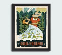 """Grow it Forward"" 11x14 print"
