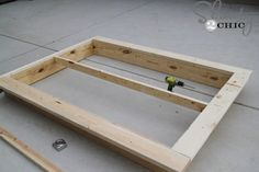 Easy DIY Platform Bed Easy DIY Platform Bed - Shanty 2 Chic<br> This Easy DIY Platform Bed is the perfect build for beginners! Get the free plans and how-to tutorial now! Diy Platform Bed Frame, Floating Platform Bed, Floating Bed Frame, Platform Bed Plans, Platform Bed Designs, Platform Beds, Bed Frame Plans, Diy Bed Frame, Bed Frames