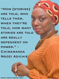 chimamanda ngozi adichie - Hello Hollywood! Time to hire female directors & storytellers!