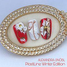 3d Nail Art, Art 3d, Gel Nail Designs, Beautiful Nail Designs, Flower Nails, Gel Nails, Art Decor, Decorative Plates, Carving