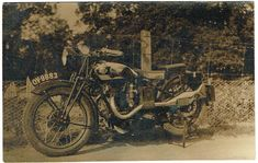 old motorcycle LEVIS TWIN PORT c1930