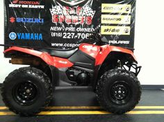 Used 2016 Suzuki Motor Of America Inc. KingQuad 400ASi ATVs For Sale in Michigan. GREAT MACHINE TAKE TO THE TRAILS OR INSTALL A PLOW TO MAKE WINTER EASY ON YOU ASK FOR STEVE EXT 122 OR EMAIL AT Task or trail, the KingQuad 400ASi handles it all with exceptional performance. Two and four-wheel drive modes will help you handle rough weather conditions while completing even the most demanding chores. The advanced QuadMatic transmission offers smooth power delivery with impressive torque to help…