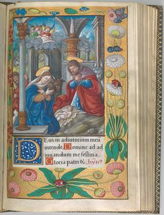 d3 Illuminated Book of Hours made for King Francis I.