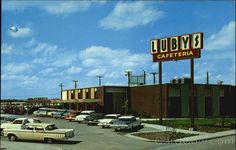 Lubys Cafeteria Harlingen Tx Texas Old Postcard Harlingen Texas, Lemon Garlic Sauce, Dry White Wine, Chicken Piccata, Free Park, Eat Breakfast, Breakfast Buffet, How To Squeeze Lemons, Cream Of Chicken Soup