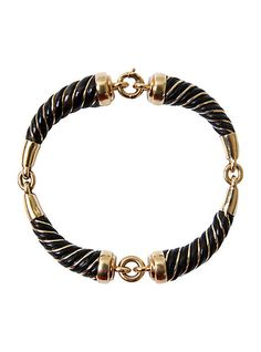French 18K Gold Elephant Hair Bracelet | The HighBoy | blog.thehighboy.com