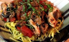 use only phase 1 approved veggies and also add the onions at the end Slow Cooker Chicken Cacciatore #StuffIMakeMyHusband