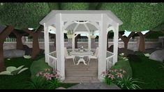 Home Building Design, Building A House, House Design, Simple House Plans, Family House Plans, Exterior Design, Interior And Exterior, Casas The Sims 4, Roblox Codes