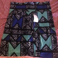 Skirt Multi colored skirt never been worn spandex material Charlotte Russe Skirts Mini
