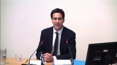 Leveson Inquiry: Murdoch too powerful - Ed Miliband