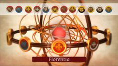 Armillary sphere: pick a town! In Genio Game