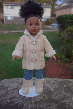 18-inch-Retired-Madame-Alexander-African-American-Brand-New-Doll