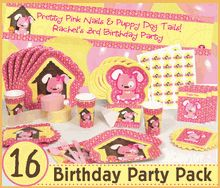 Love this puppy party stuff!