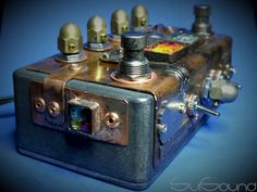 #steampunk style #guitar #pedal #overdrive #overzoid