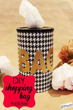 This is a great idea, it's crazy how many plastic bags I acquire in a short period of time!