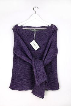 Heather Alpaka Sweater by AlexandraMilcarz on Etsy
