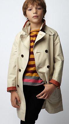 fashion - stylish kids - burberry kids - spring 2012
