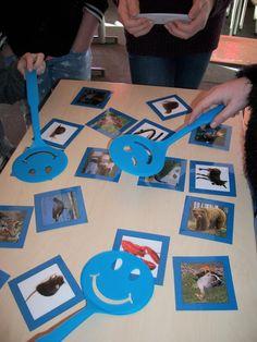 Uitdrukkingen met dieren oefenen met het woordenmepspel - Zo rood als een ....