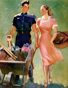 girlinthejitterbugdress.com loves this Frederick Sands Brunner, so inspirational for the novel #1940s