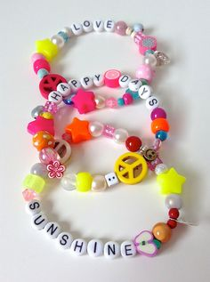 How to make happy beads – from Make it Sewcial... The People shop