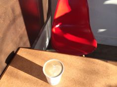 #Coffee in the sun. Image by Kyoko M.