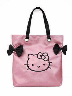 364ab3e318c1 Pink Glitter Hello Kitty Tote Bag Hello Kitty Purse