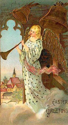Angel ~ Easter Greetings