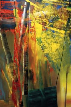 Gerhard Richter, Victoria I, 1986.  Catalogue Raisonné: 601. http://www.gerhard-richter.com/art/paintings/abstracts/detail.php?paintid=6730#