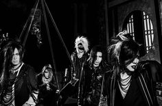 the GazettE reveal new artwork and photo ahead of 8th album DOGMA. More details: http://project-darkage.jp/release