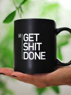 "Mug ""Get Shit DONE"" Aaron Levie"