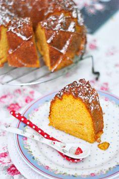OBSESIÓN CUPCAKE: Bundt Cake Sin Azúcar de Zanahoria y Coco