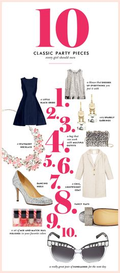 #dresscolorfully 10 classic party pieces every girl should own #yougotthis