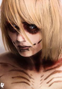 Female Titan Cosplay - Annie (Shingeki no Kyojin / Attack on Titan)