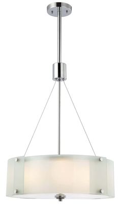 Canarm ICH432A03CH19 Ryker 3 Light Chandelier, Chrome – Chandeliers – Residential Lighting - GreyDock.com