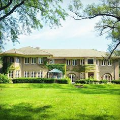 "This mansion in River Forest Illinois will soon be torn down. Known as the Paul Victor home it was designed in 1919 by Frank Lloyd Wright draftsman Harry Robinson. It has many Art Deco details inside. Candy maker Frank Mars the man who brought you the Mars and Snickers bars was the home's second owner. Last year it was sold for 2 million dollars ""as-in condition"" and sits on nearly an acre of land. The developer has already been approved to divide the site into two buildable lots and the…"