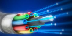 Researchers on the West Coast have created a private high speed network of fiber-optical cables that allows the data transfer at 100 Gbps. Communication Process, Communication Networks, Custom Pc Desk, Connected Life, Light Speed, Electromagnetic Radiation, Modern Tech, Fiber Optic Cable, Fast Internet