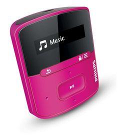 bol.com | Philips GoGear Raga - MP3 speler - 4 GB - Roze | Elektronica