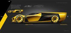 RENAULT RS GT VISION on Behance