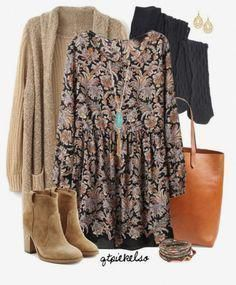 A fashion look from December 2015 featuring Proenza Schouler tights, Laurence Dacade ankle booties en Madewell tote bags. Browse and shop related looks. Mode Outfits, Casual Outfits, Fashion Outfits, Womens Fashion, Fall Winter Outfits, Autumn Winter Fashion, Early Spring Outfits, Boho Fashion Fall, Mode Hippie