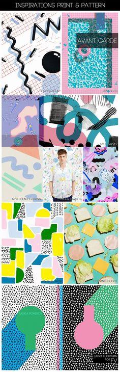 FASHION VIGNETTE: [ INSPIRATIONS PRINT + PATTERN ] KUKKA by Laura Luchtman - S/S 2015 - POSTMODERN