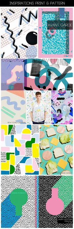 FASHION VIGNETTE: [ INSPIRATIONS PRINT + PATTERN ] KUKKA by Laura Luchtman - S/S 2015 - POSTMODERN