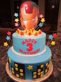 MoniCakes Iron Man Cake