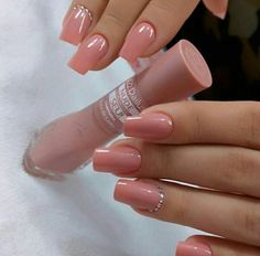 12 - You may like nail designs - 1 We offer nail designs in different colors for These nail models will suit you very well. How about applying o. Cute Acrylic Nails, Cute Nails, Pretty Nails, Latest Nail Designs, Nail Art Designs, Hair And Nails, My Nails, Minimalist Nails, Stylish Nails