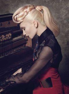 Beautiful Hair Up Inspiration by Gandini