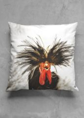 Frazzled Chicken Pillow: What a beautiful product!