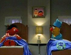 Bert & Ernie seen with my daughter