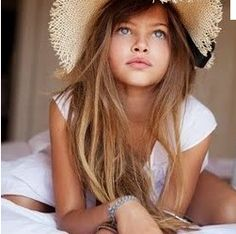 Thylane Blondeau... Here she is again!! One to watch in the future!!!