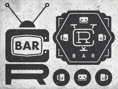 VCR BAR logo Tests by Bennie Kirksey Wells