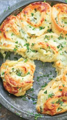 Make Pull-Apart Cheesy Spinach and Artichoke Pinwheels | Kitchn